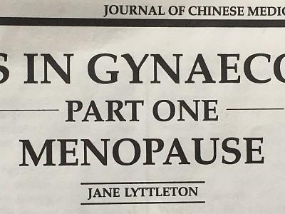 Considering the Menopause